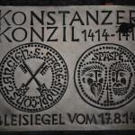 Wenn man durch die Fußgängerzone in Konstanz, bei der Markstätte läuft, findet man diesen Stolperstein.
